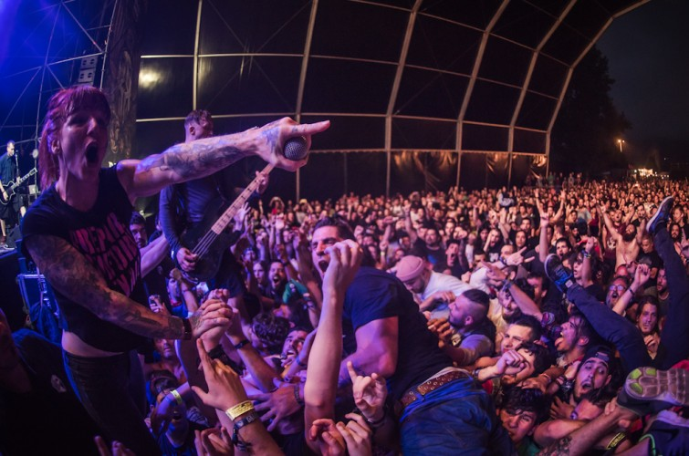 Wall of Jericho Playing at Resurrection Fest