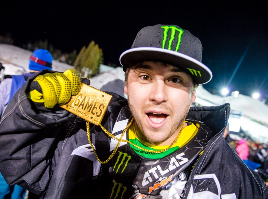 Joe Parsons competes in the 2016 Winter X Games