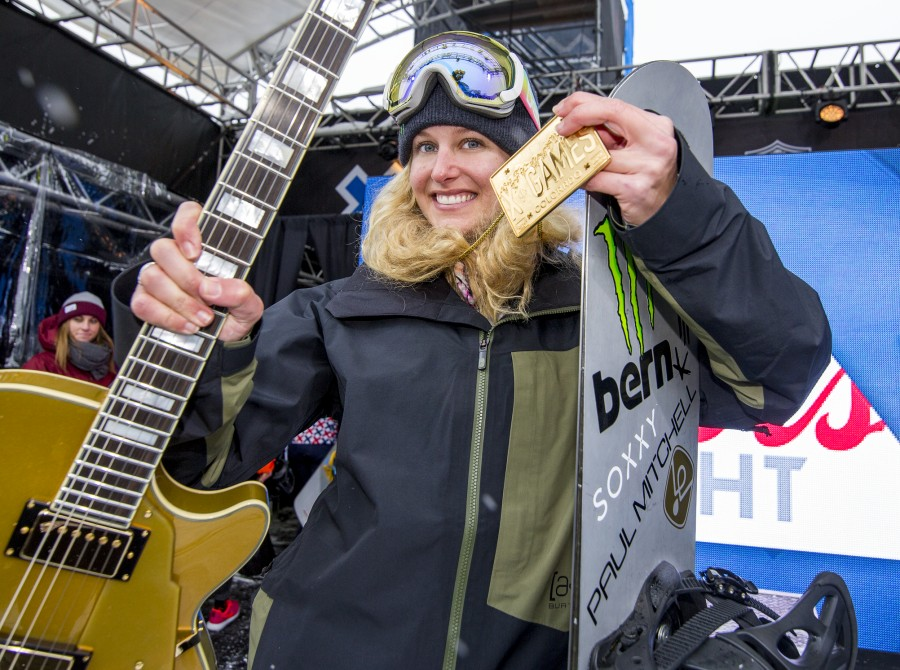 Lindsey Jacobellis competing in Aspen, CO at Winter X Games