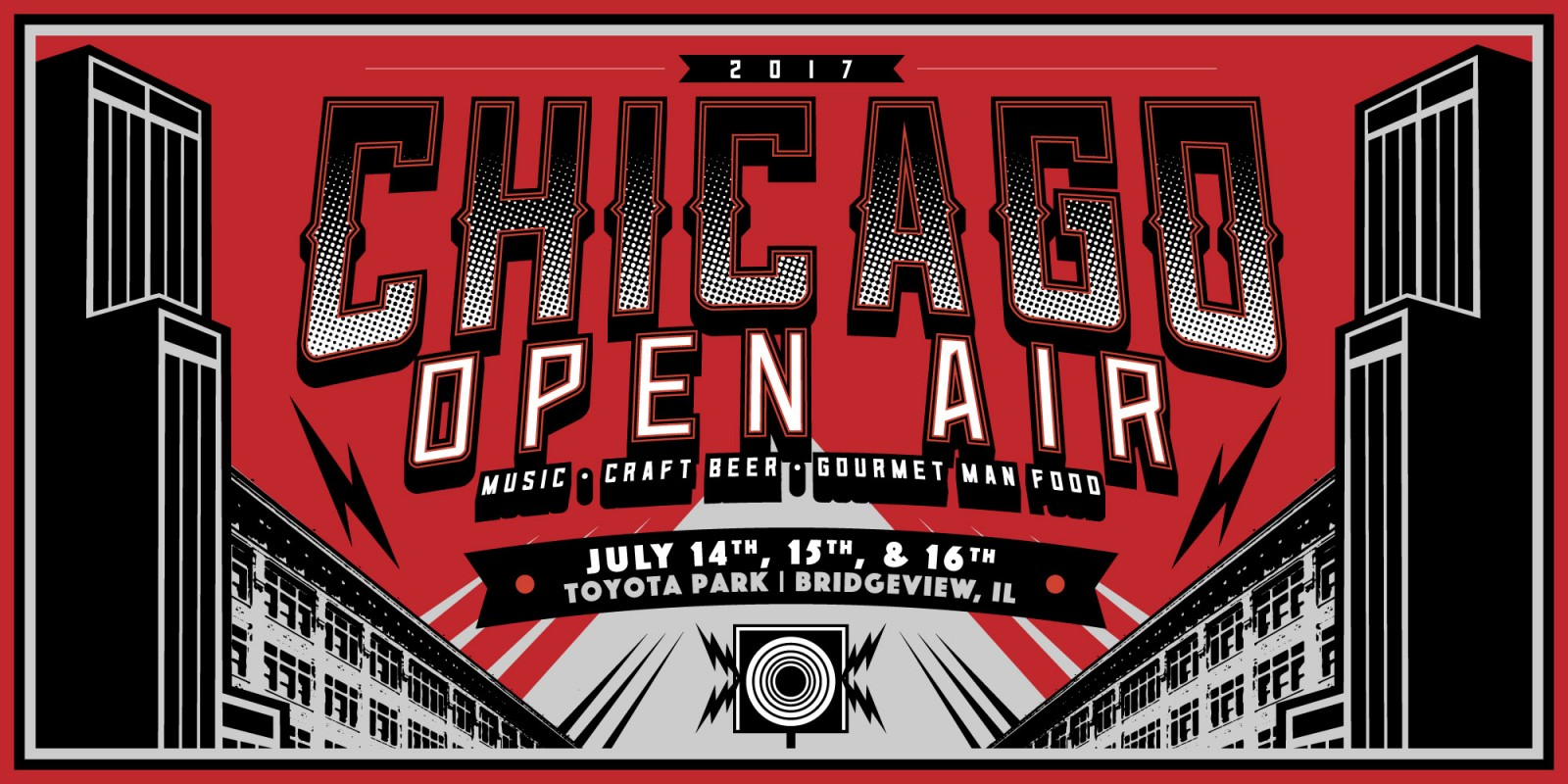 2017 Web Chicago Open Air Music Event Hero Image