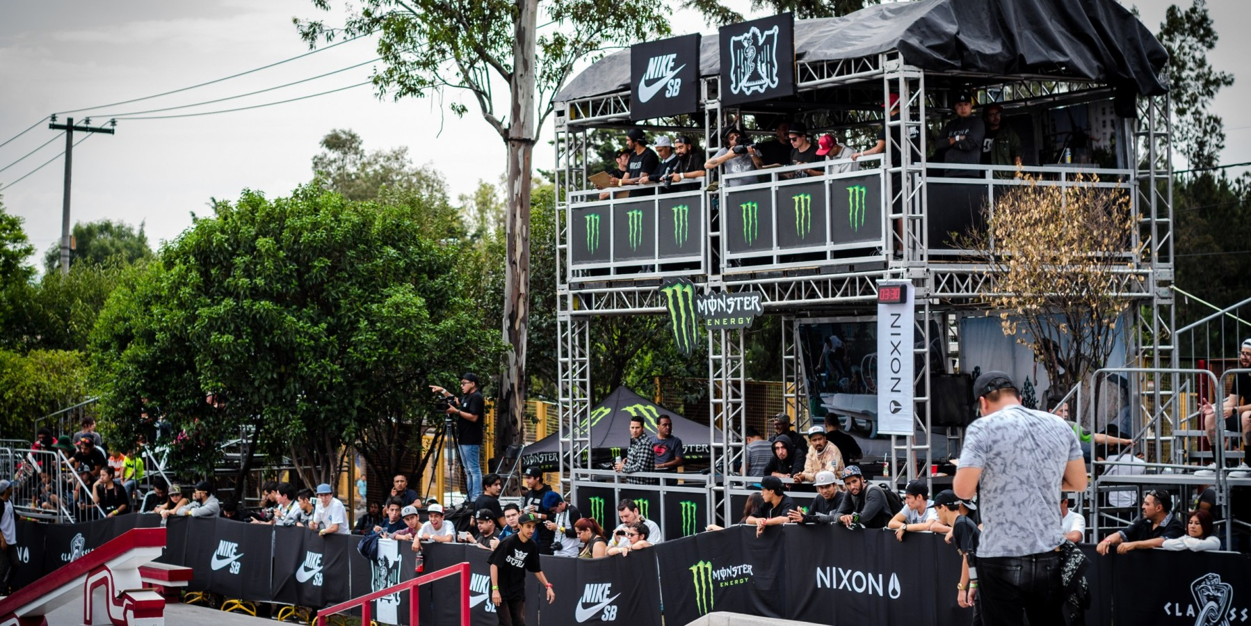 Latin skate competition at Mexico City