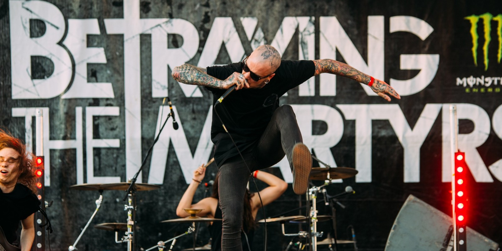 Betraying the Martyrs at the 2015 Full Tension Festival in Bolzano, Italy