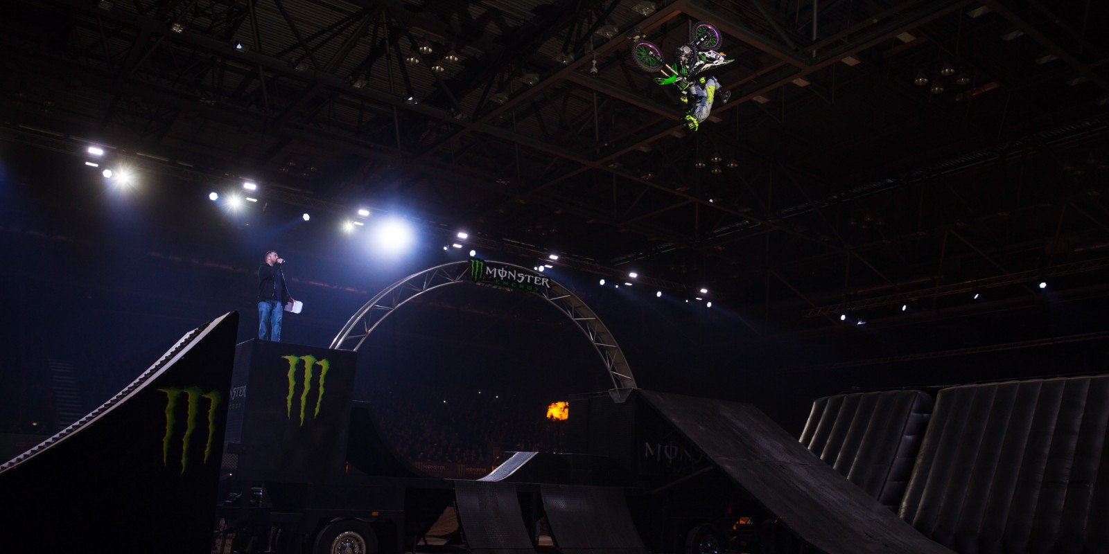 Andre Villa at the Kings of Xtreme in Leipzig.