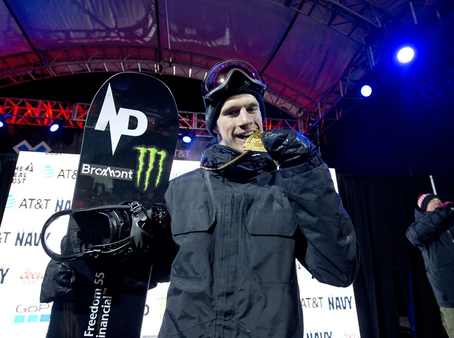 Max Parrot Takes Gold in Men's Snowboard Big Air at X Games Aspen 2017