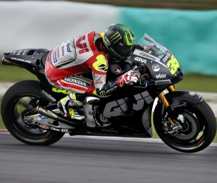Cal Crutchlow at the 2015 Le Mans MotoGP in Le Mans, France