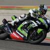 Clement Desalle in superbike action