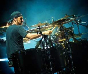 Dave Lombardo from Suicidal Tendencies image for his Hero Card