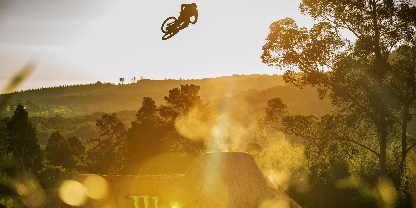 First hits on the completed DarkFEST course. Sam Reynolds
