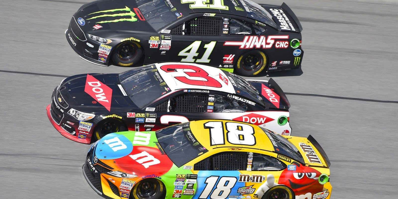 The 2017 Monster Energy Nascar Cup Series opener at Daytona Florida