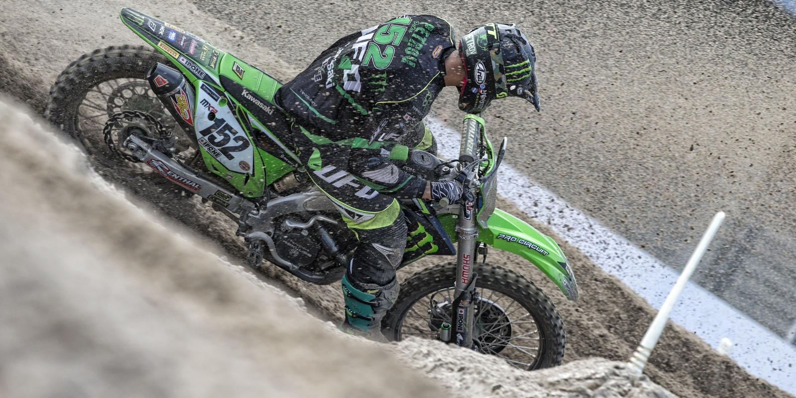 Petar Petrov at the 2016 MXGP of the Netherlands