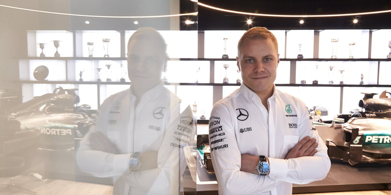 Images of Valtteri Bottas signing his Mercedes F1 contract and visiting Mercedes HQ in Germany