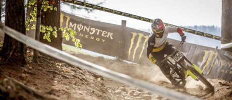 Monster Energy at the 2015 Diverse Downhill Contest in Międzybrodzie Żywieckie, Poland