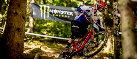 Monster Energy at the 2015 Diverse Downhill Contest in Wisla, Poland