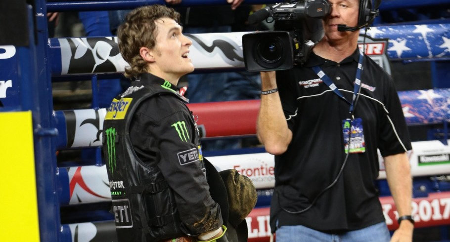 Reese Cates during the Iron Cowboy Built Ford Tough series PBR