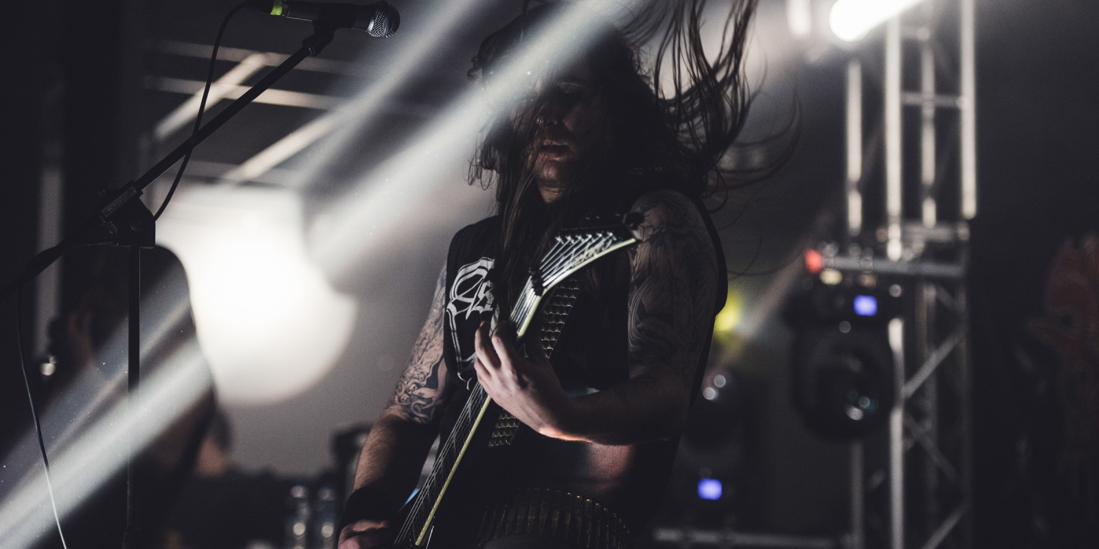 Photos from the latest live show of Monster Energy band Suicidal Angels in Athens Greece
