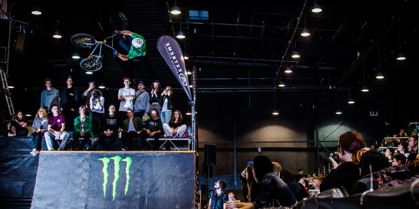 Monster Energy at the 2015 Baltic Games Indoor Edition in Amber Expo, Gdansk, Poland