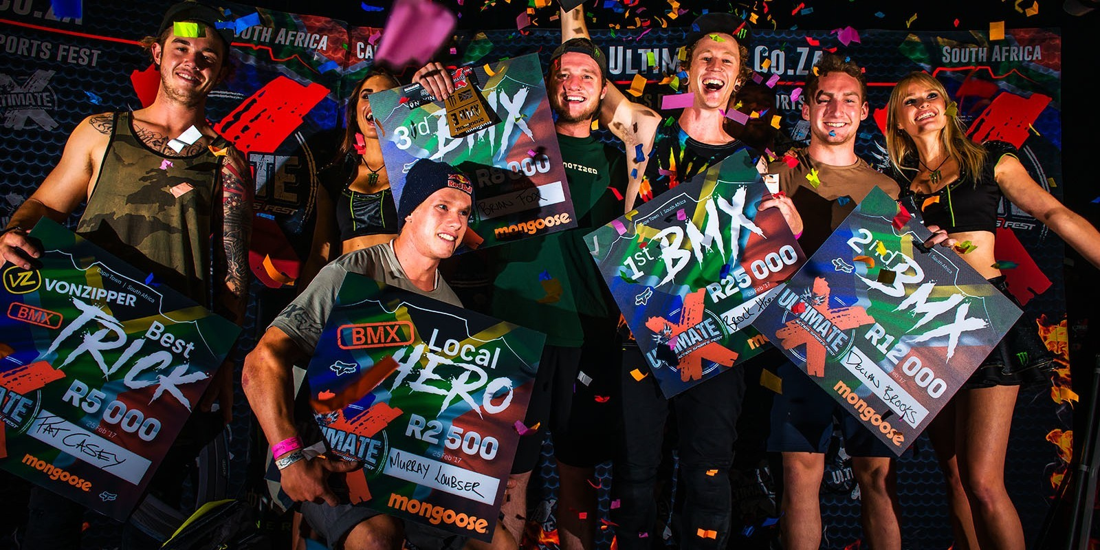 Ultimate X Action Sports Fest - South Africa - 2017 - BMX Podium