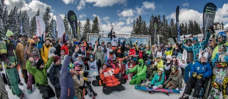 Monster Energy at the 2015 Pamporovo Freestyle Open in Pamporovo, Bulgaria
