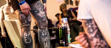 Images from Tattoo Festival in Saint Petersburg, Russia