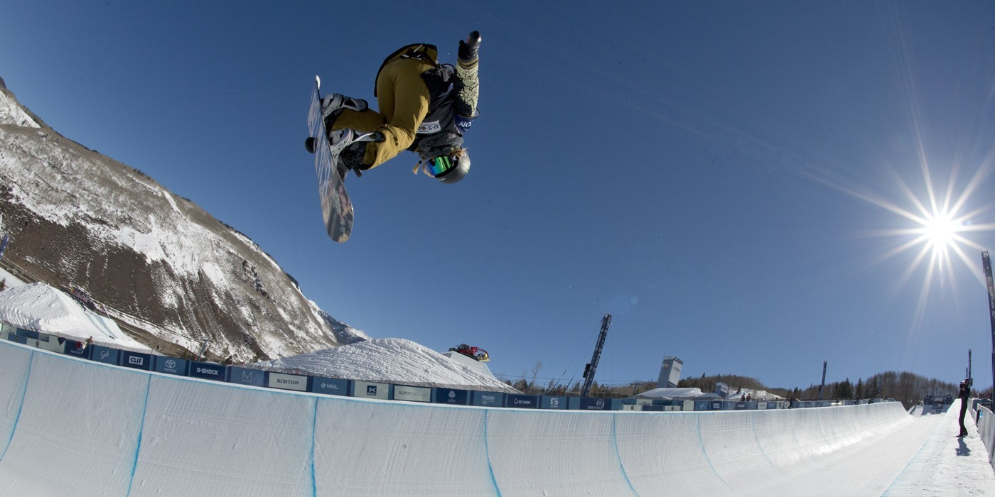 Chloe Kim at the US OPEN in Vail, CO