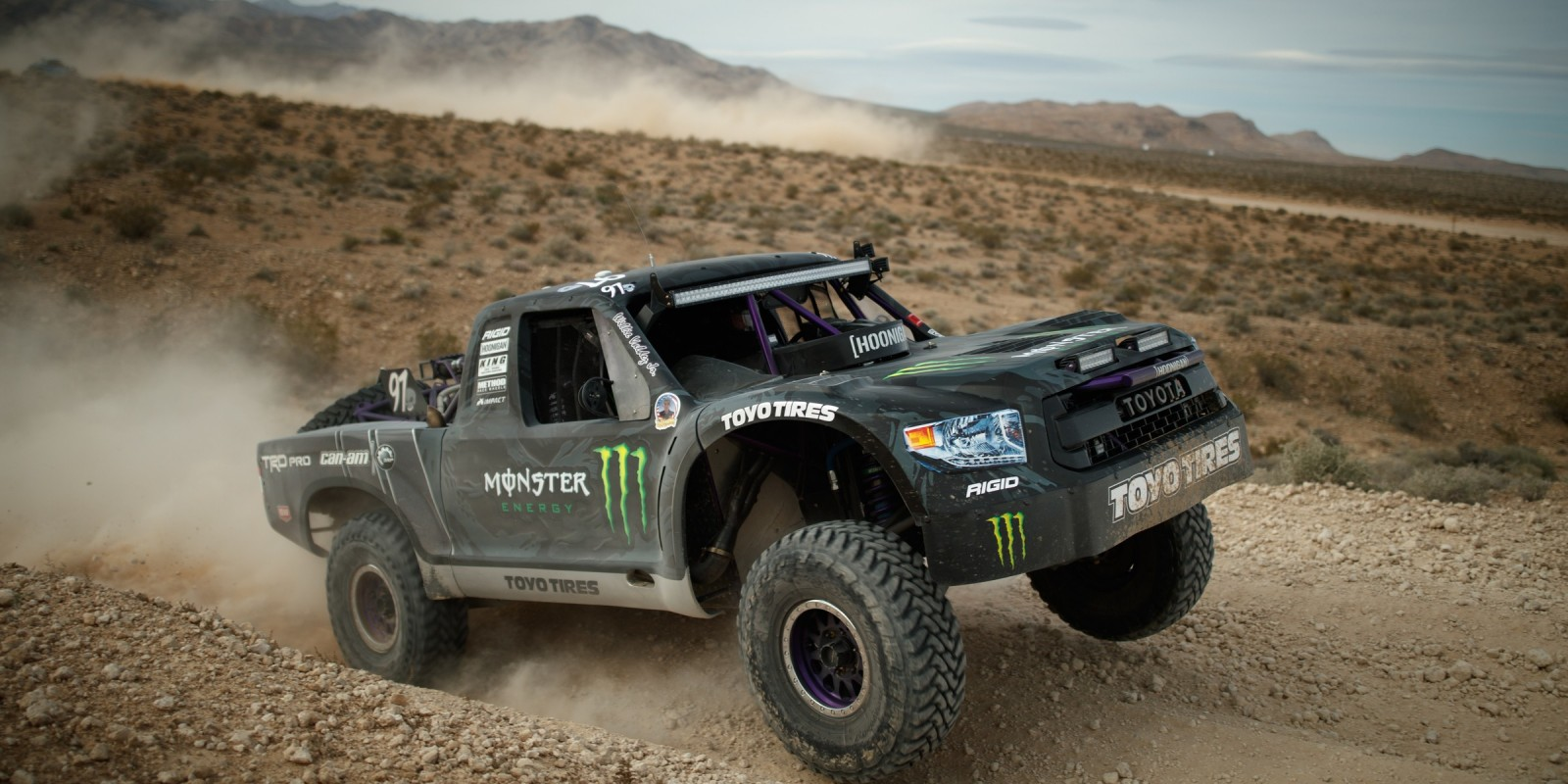 Monster Riders at the 2017 Mint 400 in Las Vegas