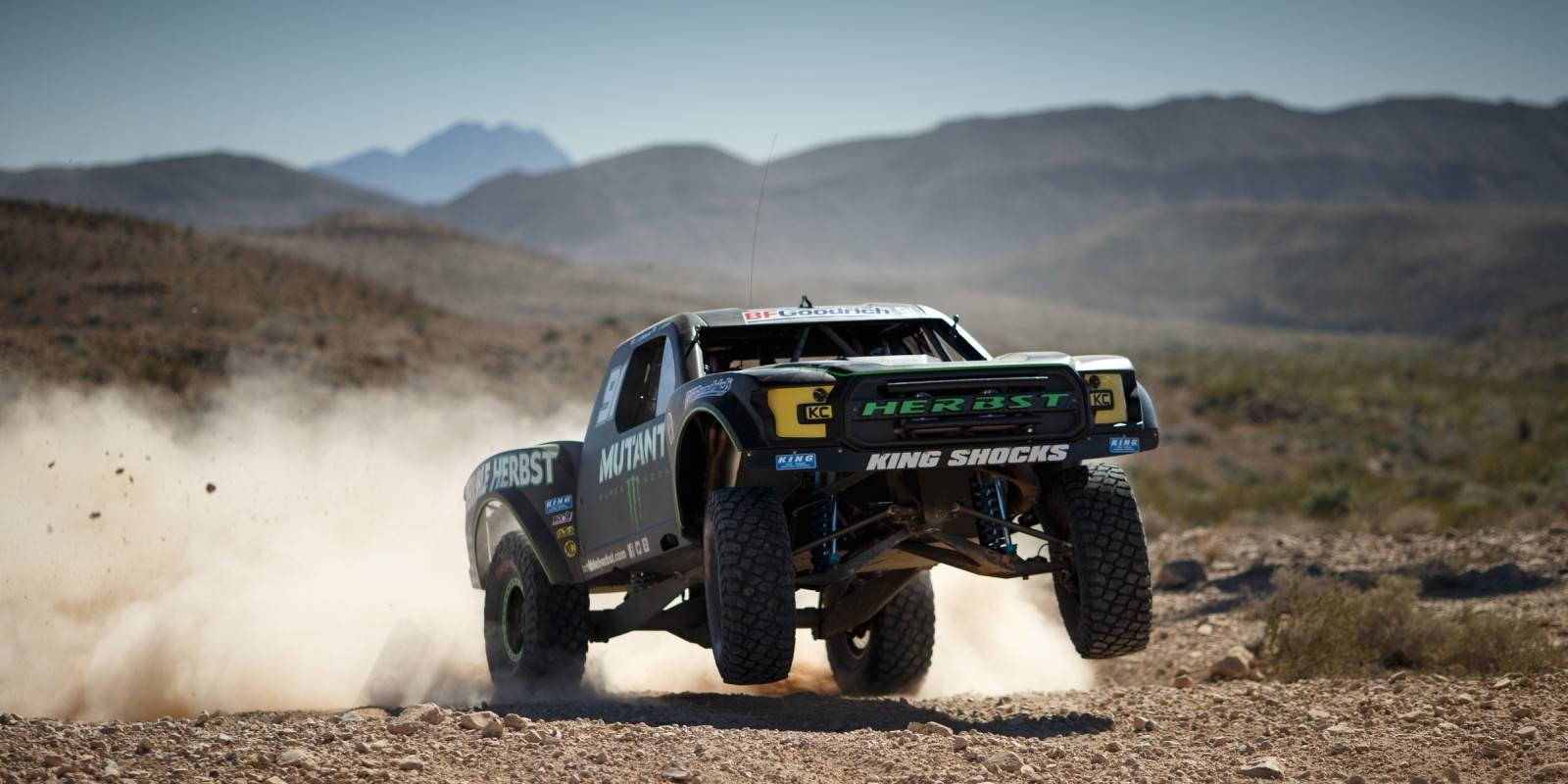 Monster athletes compete in the 2017 Mint 400 Off Road race