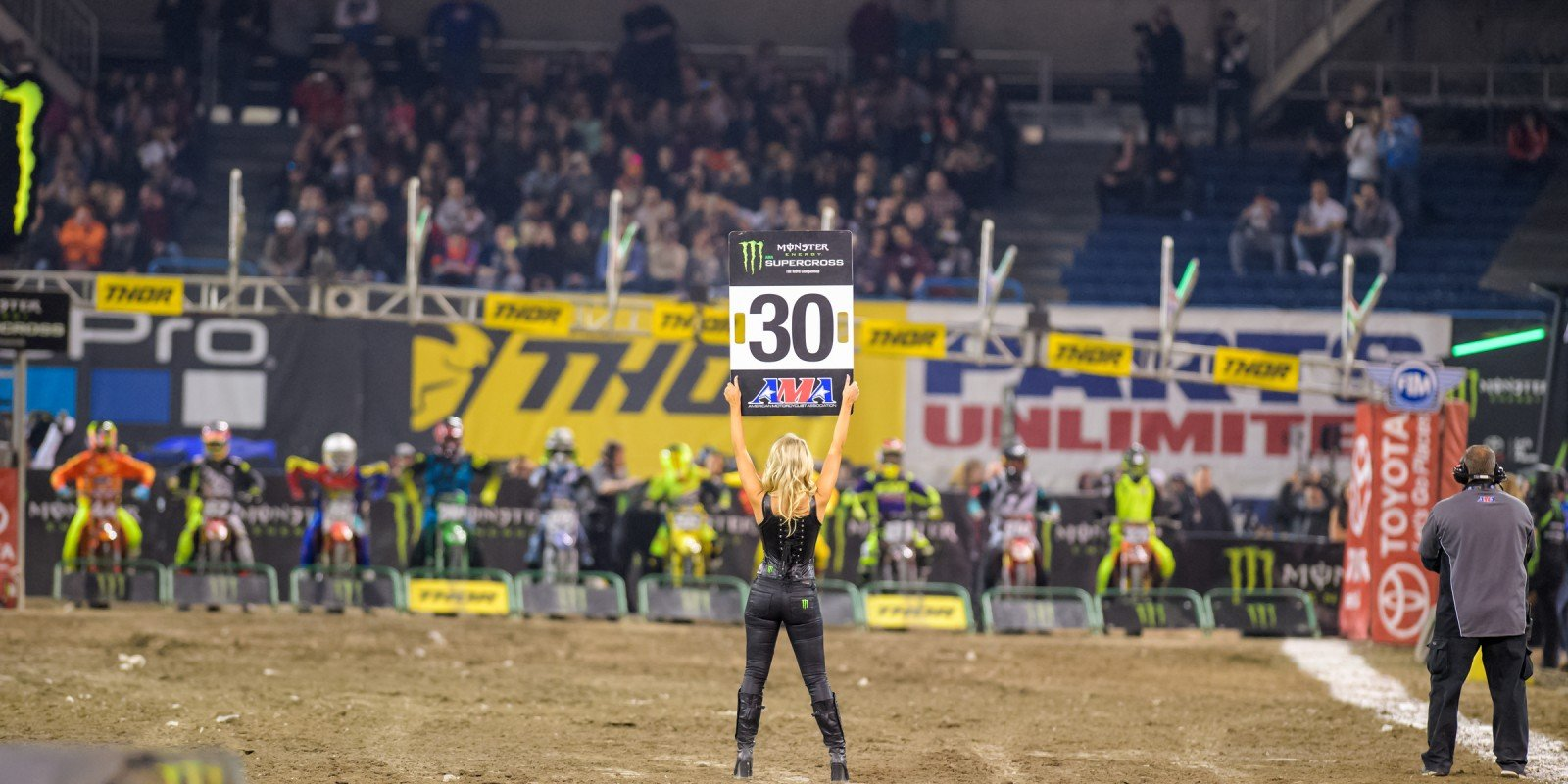 Monster Girls at the 2017 Supercross in Toronto, Canada