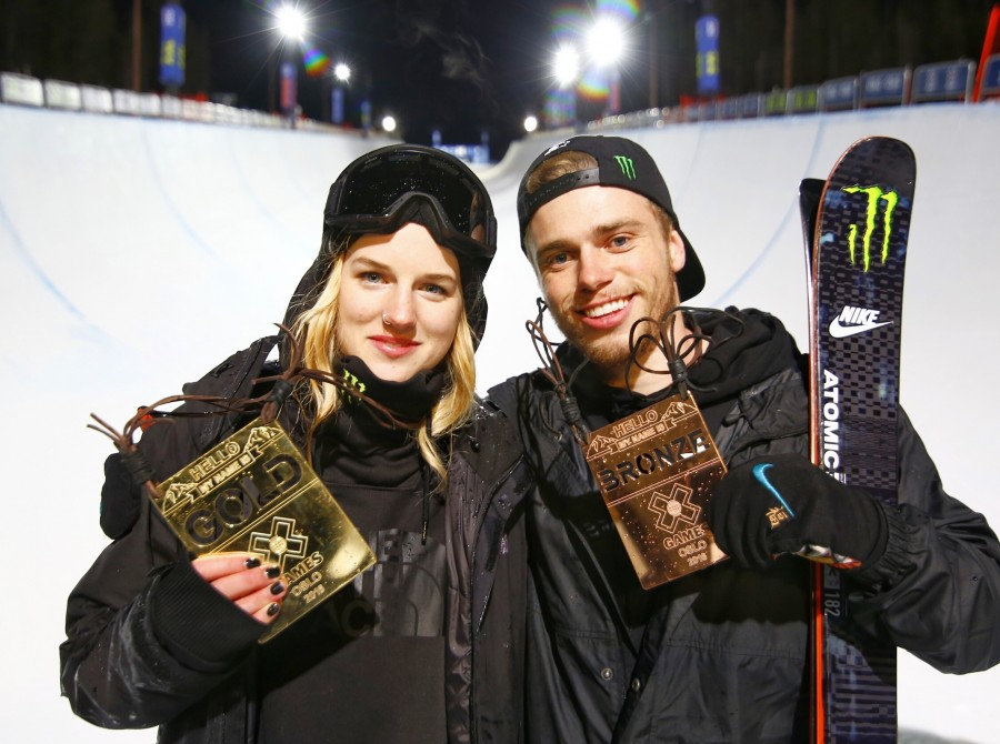 Cassie Sharpe wins GOLD and Gus Kenworthy claims BRONZE in X Games Oslo Ski Superpipe finals