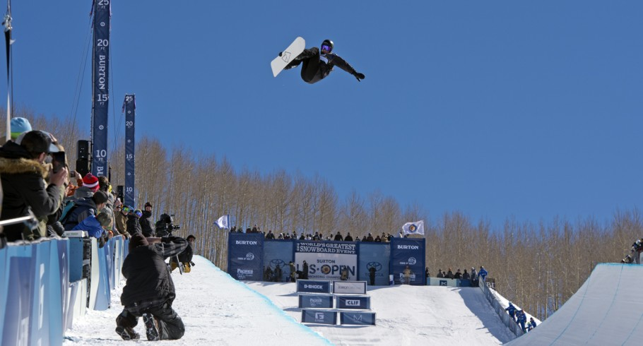"""Iouri """"Ipod"""" Podladtchikov qualified for 1/2 pipe finals at the US OPEN in Vail, CO"""