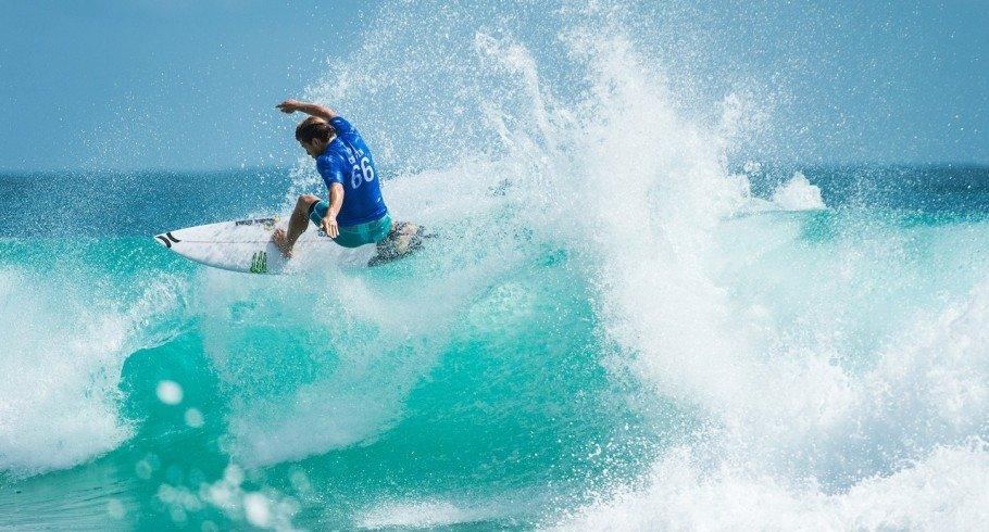 Conner Coffin during Quicksilver Pro