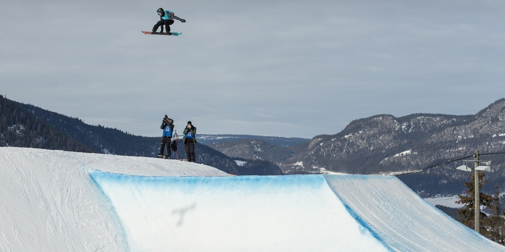 Sven Thorgren at the 2017 X Games in Hafjell, Norway