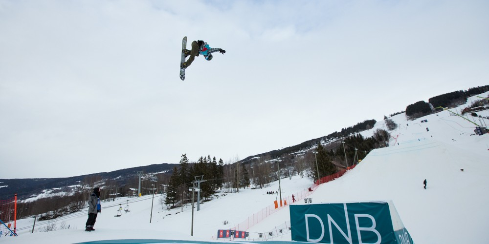 Monster athletes at the 2017 X Games in Hafjell, Norway