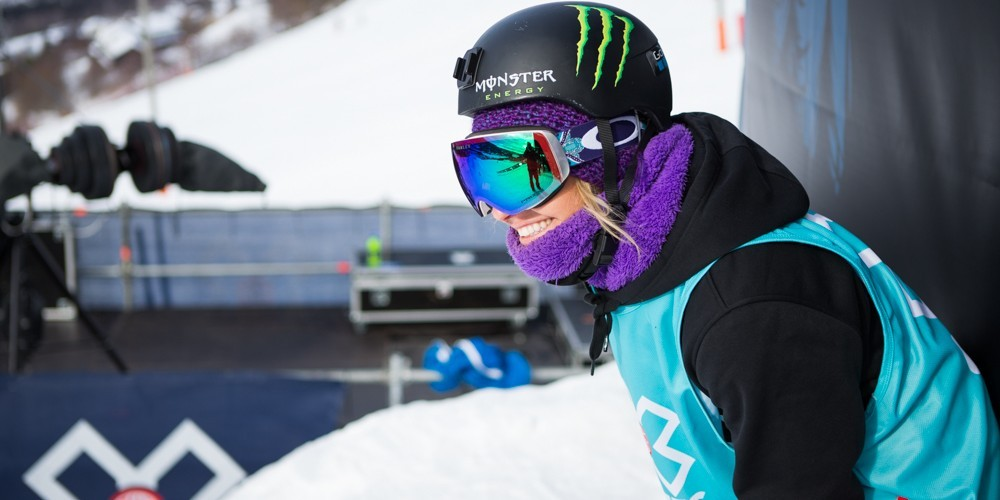 Jamie Anderson places second on the second day of X Games in Hafjell, Norway