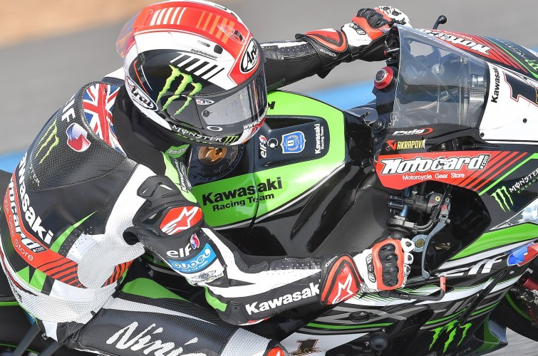 Jonathan Rea at the 2017 World Superbike Thai Round