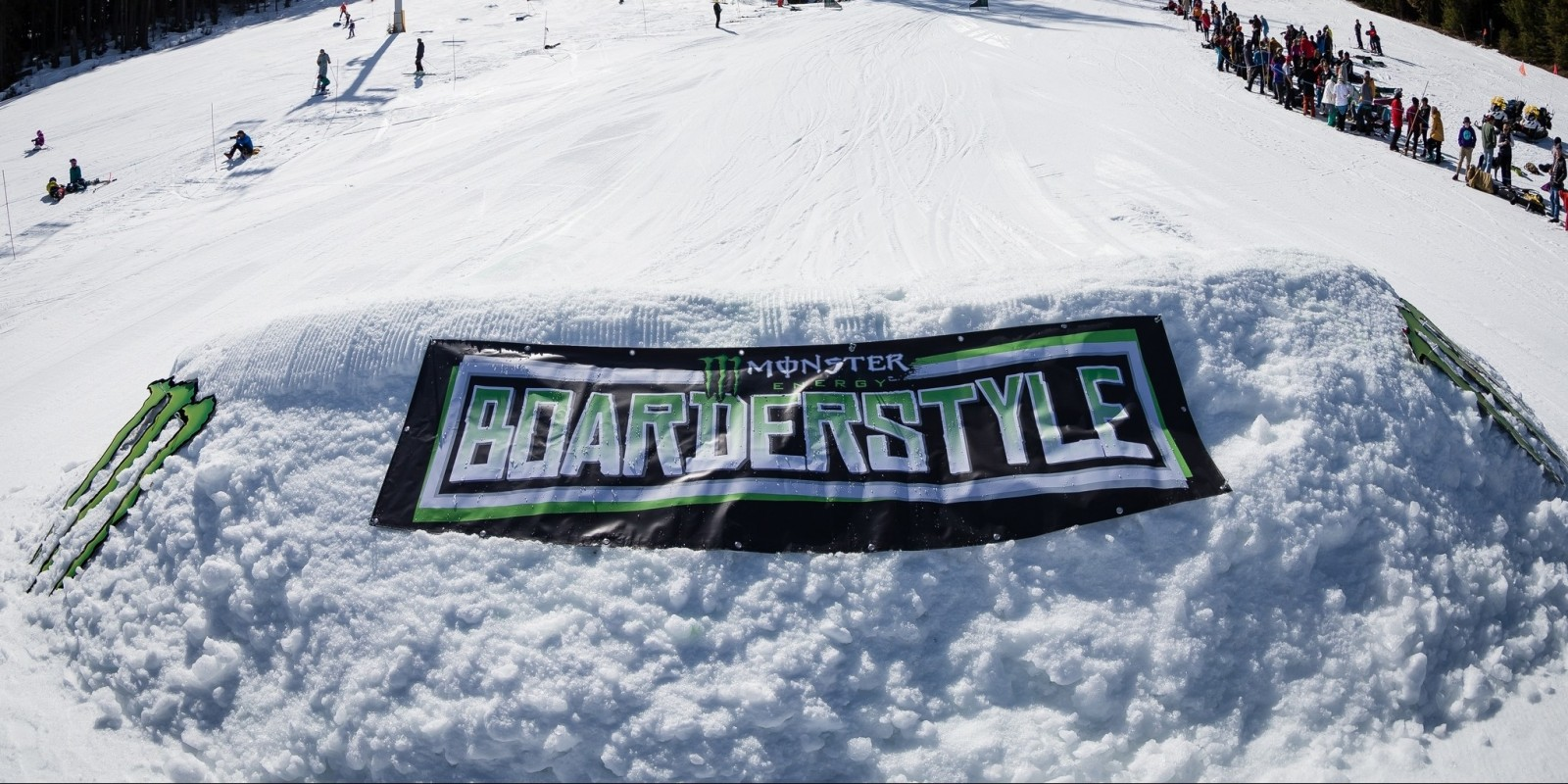 Monster Energy at the 2016 Boarderstyle Nationals in Fernie, BC