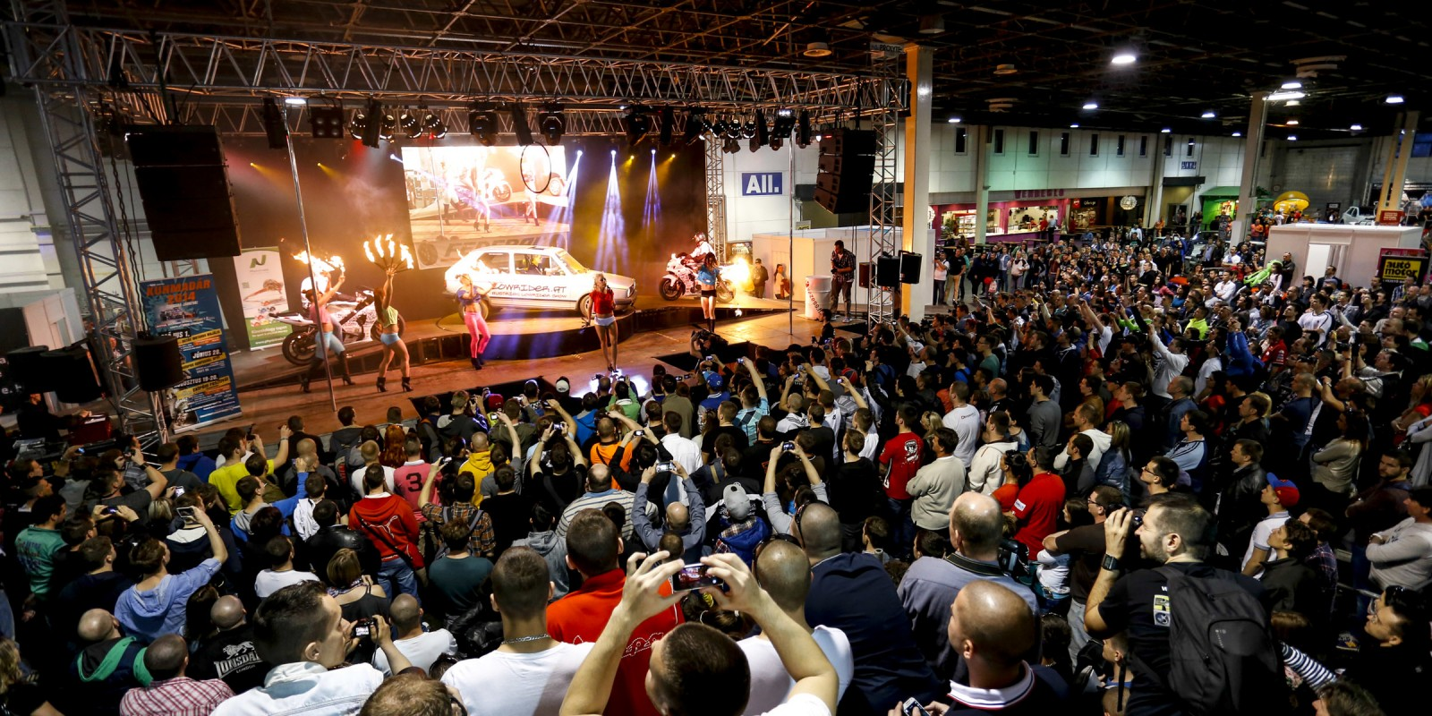 Lifestyle photos from AMTS, Automobil & Tuning Show in Budapest, Hungary