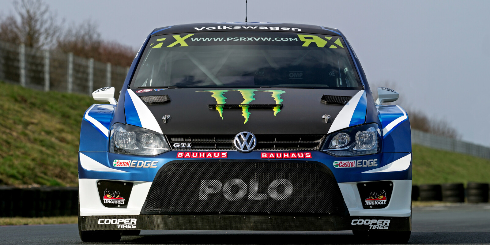 Launch images for the 2017 PSRX VW Polo GTI Supercar