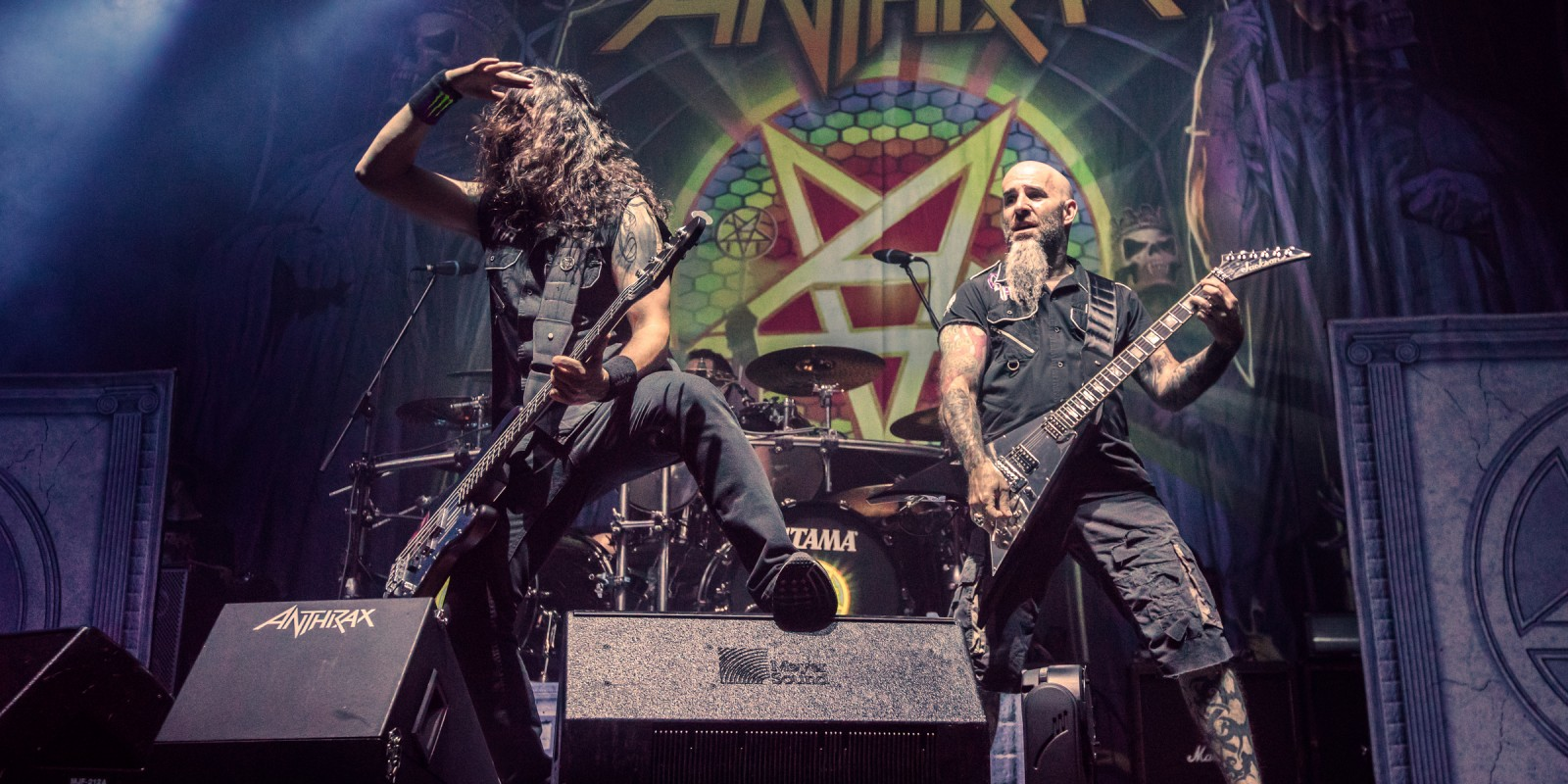 Anthrax Live at Sofia, Bulgaria 2016