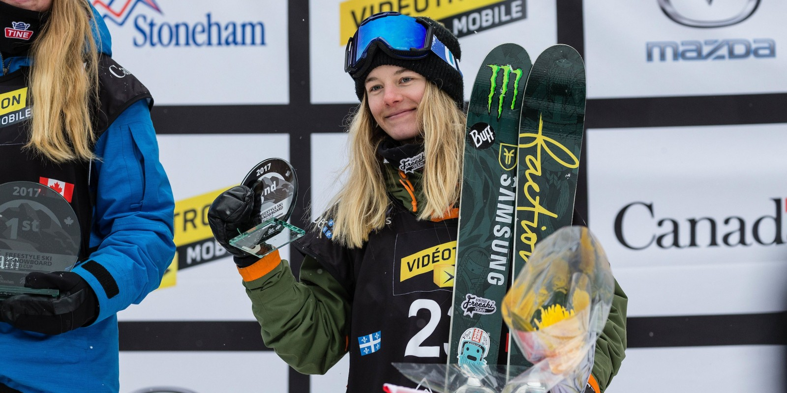 Action & podium shots from 2017 Snow Jamboree FIS World Cup in Quebec