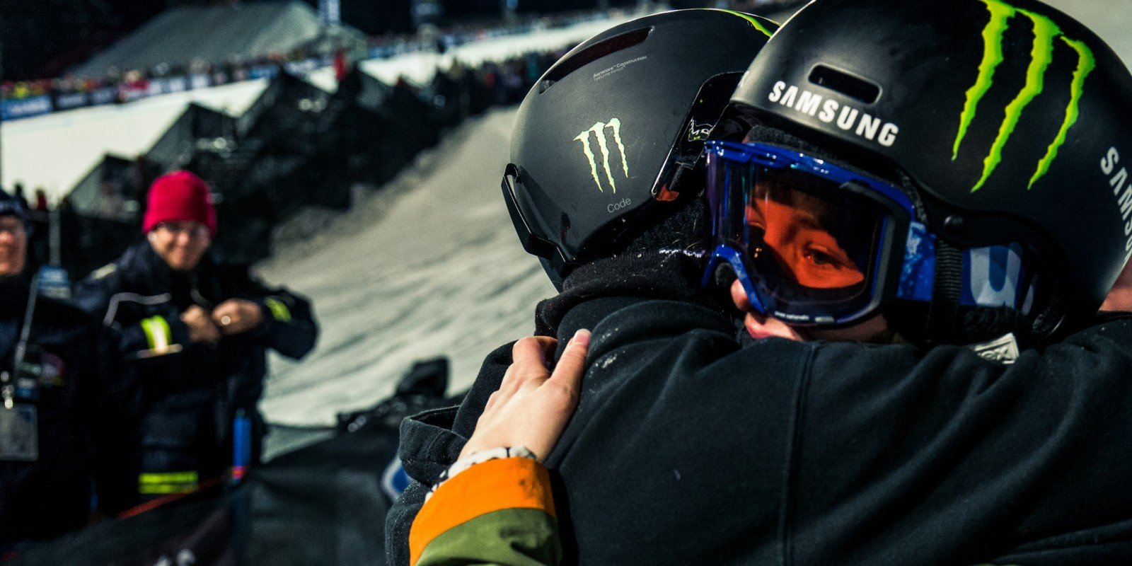 Monster athletes at the 2017 Winter X Games in Aspen, CO