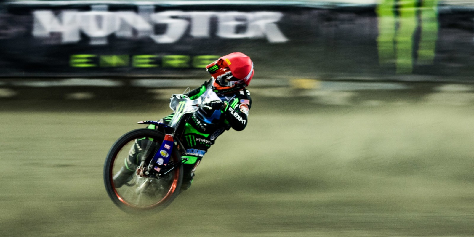 Pictures from round 1 of 2017 Speedway Best Pairs series in Torun, Poland - Greg Hancock action picture