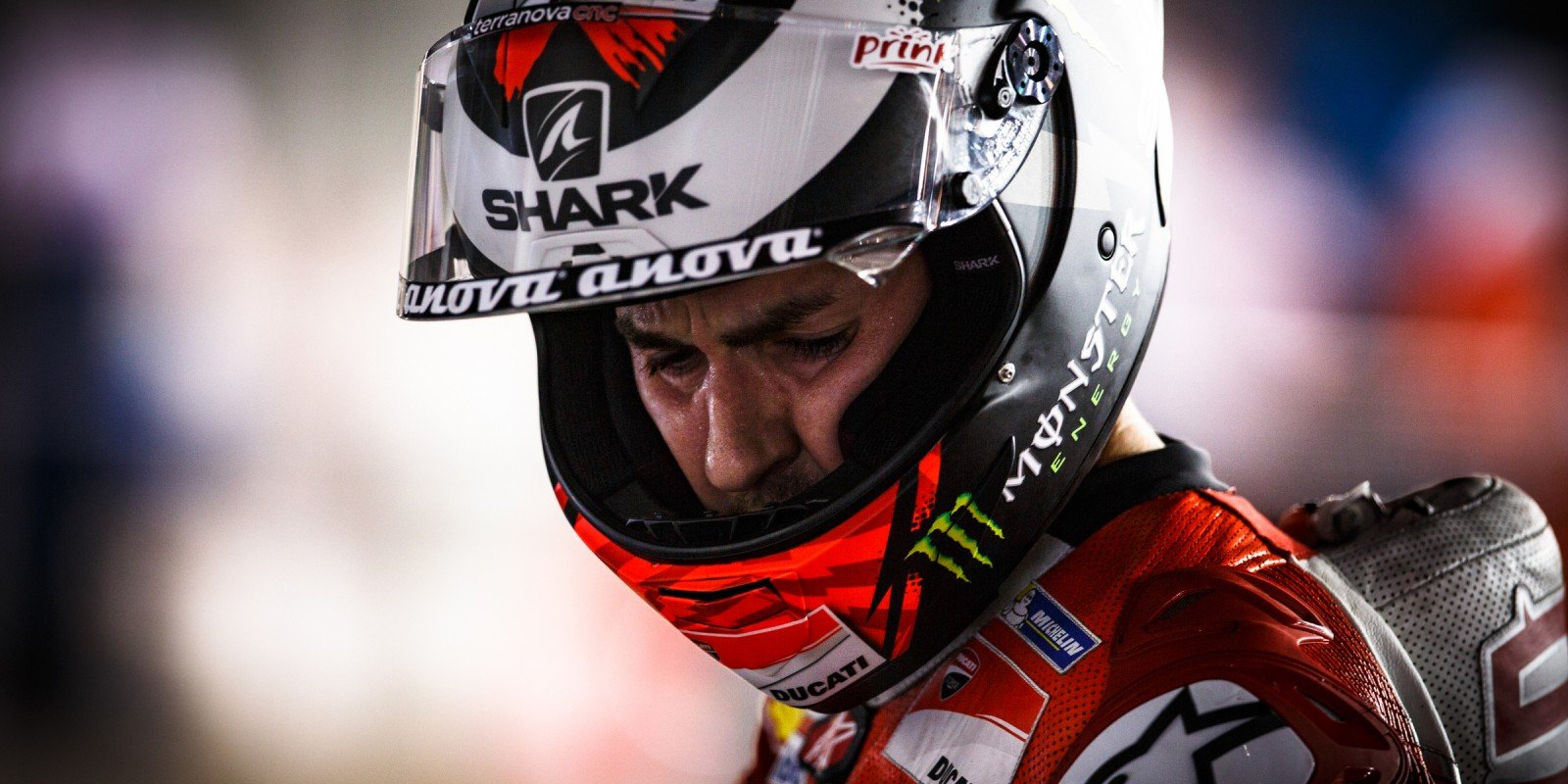 Jorge Lorenzo at the 2017 Grand Prix of Qatar