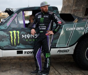 BJ Baldwin competes in the 2015 Mint 400 Off Road race.