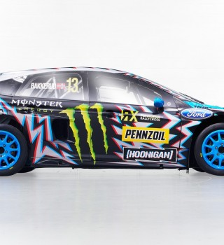 Images of Hoonigan Racing's 2017 World RX livery