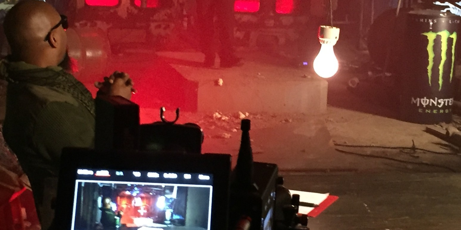 Behind the scenes photos provided by Tech N9ne from his PTSD video shoot