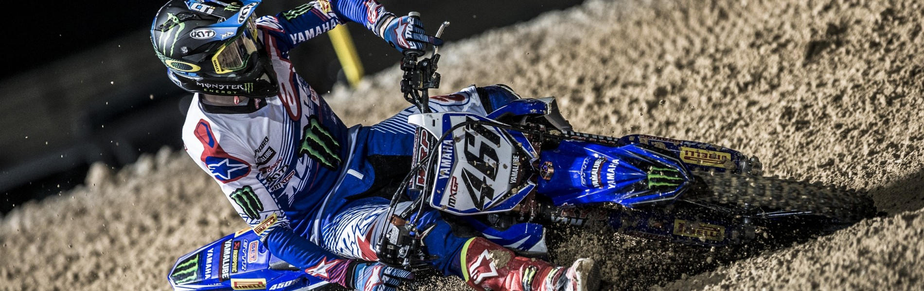 Romain Febvre at the 2017 Grand Prix of Qatar