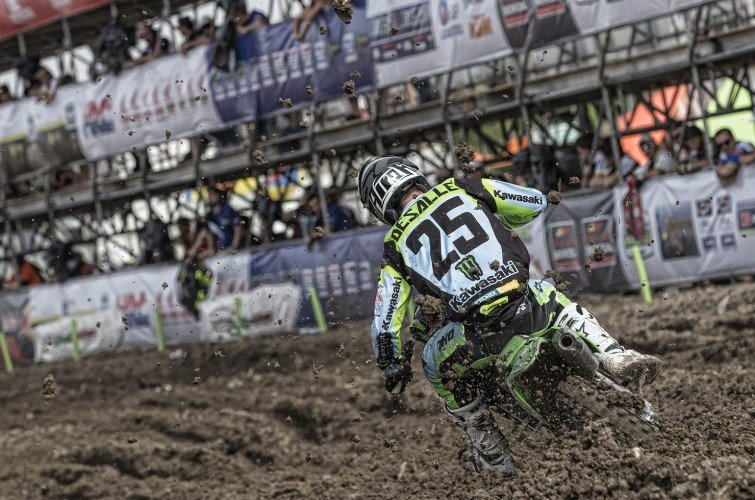 Clement Desalle at the 2017 Grand Prix of Mexico