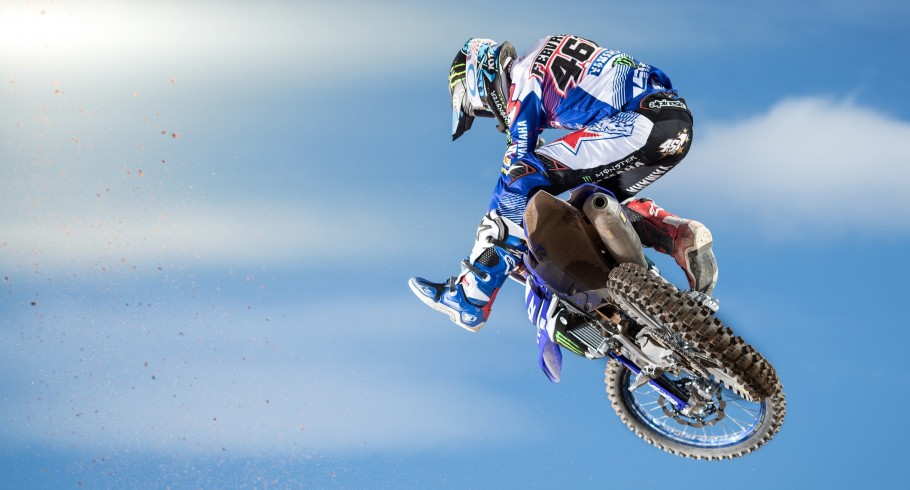 Romain Febvre in action