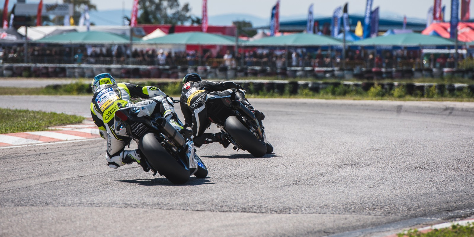 Photos of our local Superbike athlete Sakis Sinioris, during the 1st race of the National Championship. The event wasn't sponsored by ME