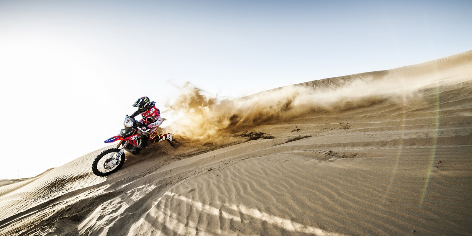 Paulo Goncalves at the Cross-Country Rally of Abu Dhabi